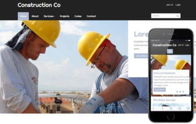 Construction a Real Estate Category Flat Bootstrap Responsive Web Template