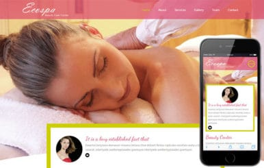 Eco Spa a Beauty and Spa Category Flat Bootstrap Responsive Web Template