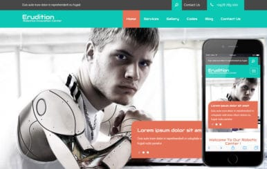 Erudition a Corporate Business Flat Bootstrap Responsive Web Template