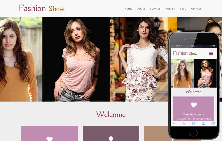 Fashion Show a Fashion Category Flat Bootstrap Responsive Web Template