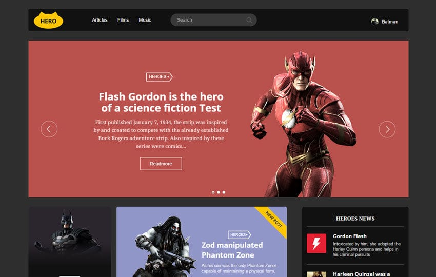 Hero UI Kit a Flat Bootstrap Responsive Web Template