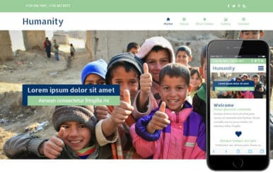 Humanity a Charity Category Flat Bootstrap Responsive Web Template