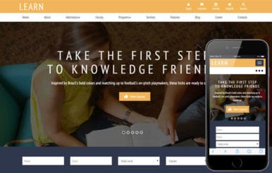 Learn a Educational Guidance Flat Bootstrap Responsive web template