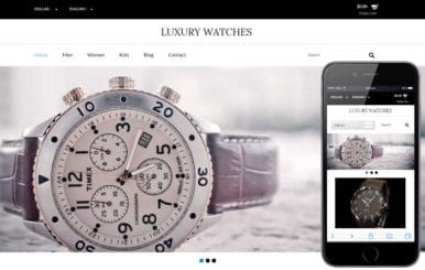 Luxury Watches a Flat Ecommerce Bootstrap Responsive Web Template