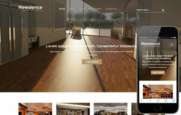 Residence a Real Estate Flat Bootstrap Responsive Web Template