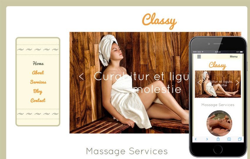 Classy a Beauty and Spa Category Flat Bootstrap Responsive Web Template