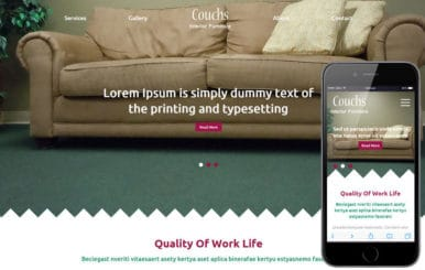 Couchs a Furniture Category Flat Bootstrap Responsive Web Template