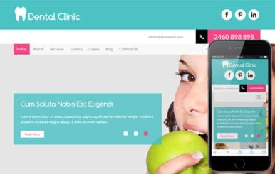 Dental Clinic a Medical Category Flat Bootstrap Responsive Web Template