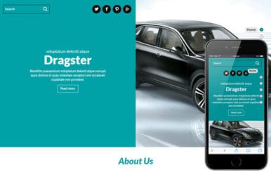 Dragster a Auto Mobile Category Flat Bootstrap Responsive Web Template