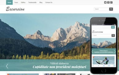 Excursion a Travel Guide Flat Bootstrap Responsive web template