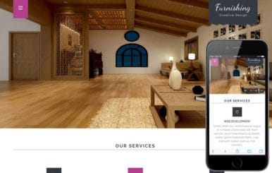 Furnishing a Interior Architects Multipurpose Flat Bootstrap Responsive Web Template