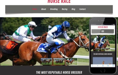 Horse Race a Animal Category Flat Bootstrap Responsive Web Template