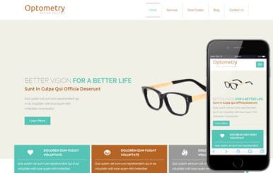Optometry a Medical Category Flat Bootstrap Responsive Web Template