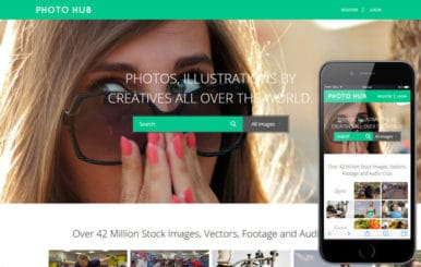 Photo Hub a Photo gallery Flat Bootstrap Responsive Web Template