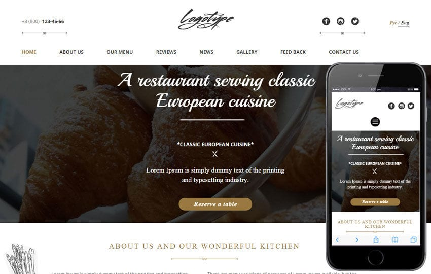 Savory a Hotel Category Flat Bootstrap Responsive Web Template