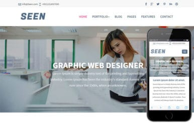 Seen a Corporate Business Flat Bootstrap Responsive Web Template
