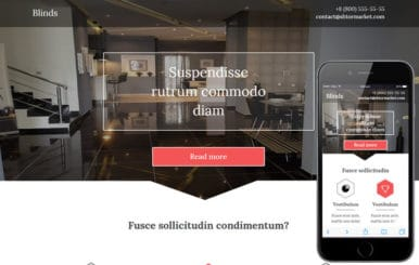 Blinds a Interior Architects Multipurpose Flat Bootstrap Responsive Web Template