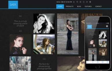 Darx a Fashion Category Flat Bootstrap Responsive Web Template