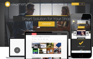 Ekomers a Corporate Business Flat Bootstrap Responsive Web Template