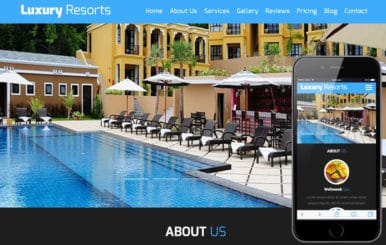 Luxury Resorts a Hotel Category Flat Bootstrap Responsive Web Template