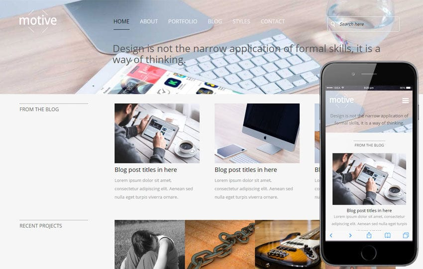 Motive V2 a Corporate Business Flat Bootstrap Responsive Web Template