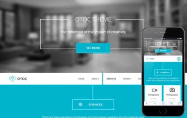 Otoc a Corporate Business Flat Bootstrap Responsive Web Template