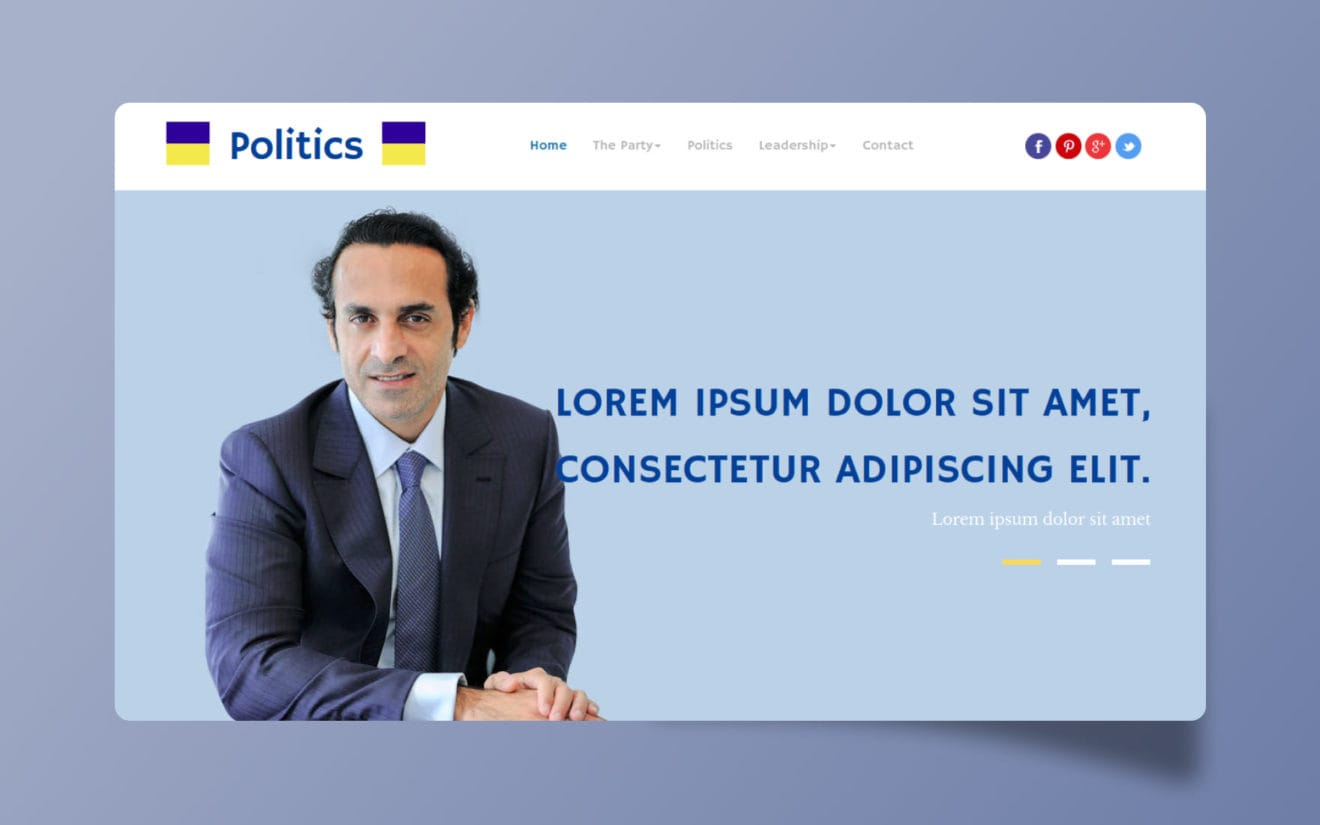 Politics a People and Society Category Flat Bootstrap Responsive Web Template