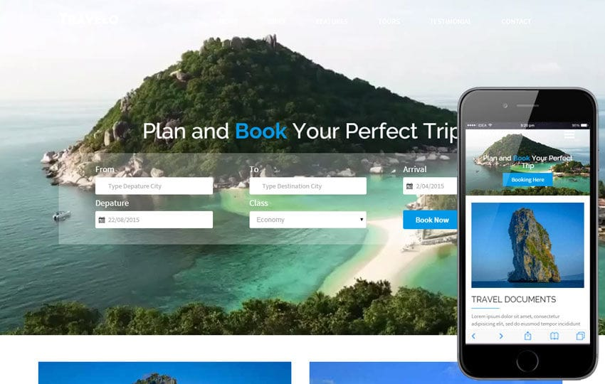 Travelo a Travel Guide Flat Bootstrap Responsive web template