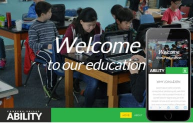Ability a Educational Multipurpose Flat Bootstrap Responsive web template
