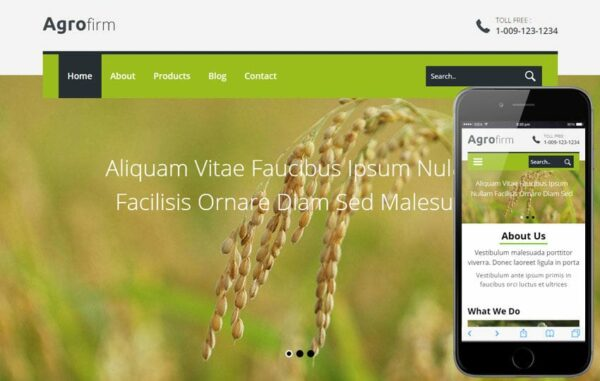 Agro firm a Agriculture Category Flat Bootstrap Responsive web template