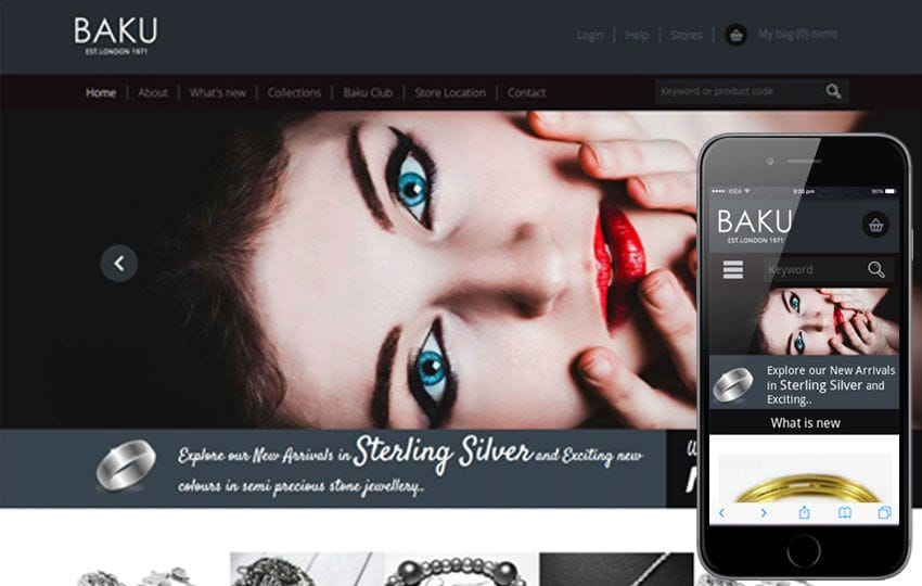 Baku a Jewellery Category Flat Bootstrap Responsive web template