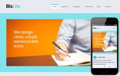 Bislite a Corporate Business Flat Bootstrap Responsive web template