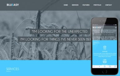 BluEasy a Corporate portfolio Flat Bootstrap Responsive web template