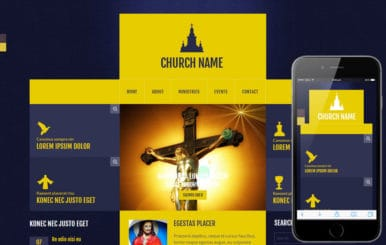 Church a Religious Category Flat Bootstrap Responsive Web Template