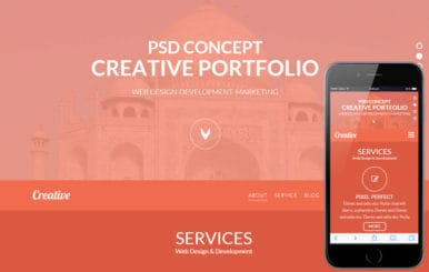 Creativeness a Corporate Business Flat Bootstrap Responsive Web Template