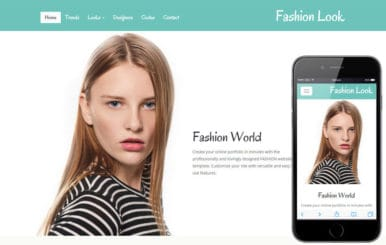 Fashion Look a Fashion Category Flat Bootstrap Responsive Web Template