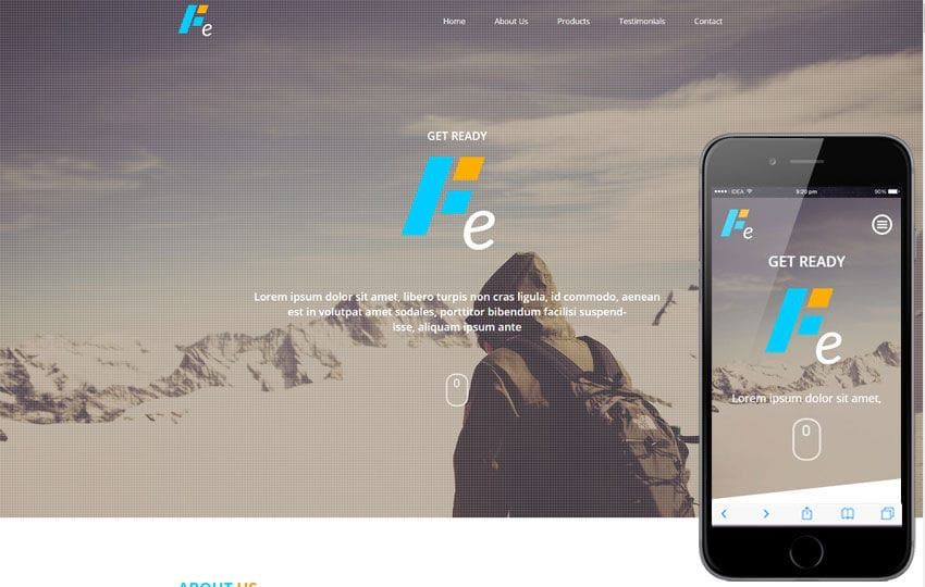Fe a Corporate Multipurpose Flat Bootstrap Responsive Web Template