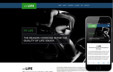 Fit Life a Sports Category Flat Bootstrap Responsive Web Template