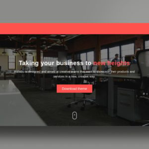 hallooou website template