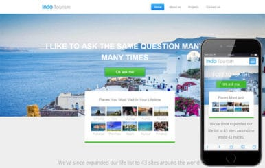 Indo Tourism a Travel Category Flat Bootstrap Responsive web template