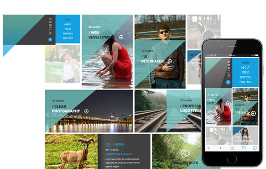 Interno a Corporate Multipurpose Flat Bootstrap Responsive web template