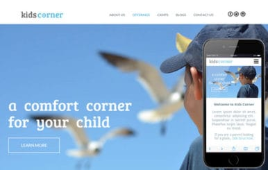 Kids Corner a Educational Multipurpose Flat Bootstrap Responsive web template