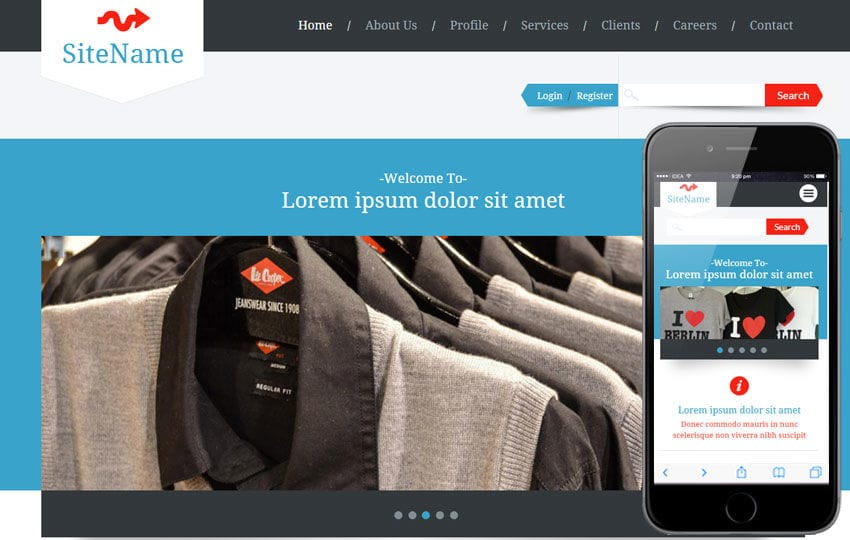 Lavaggio a Corporate Agency Flat Bootstrap Responsive Web Template