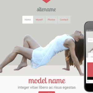 Modeling a Fashion Category Flat Bootstrap Responsive Web Template