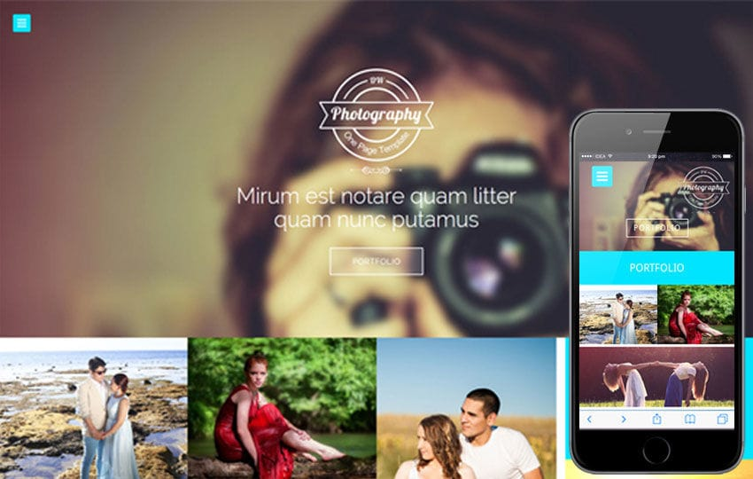 Photography a Photographers Portfolio Flat Bootstrap Responsive Web Template