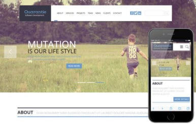Quarantie a Corporate Flat Bootstrap Responsive web template