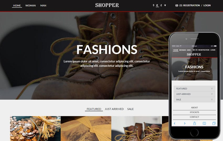Shopper a Flat Ecommerce Bootstrap Responsive Web Template