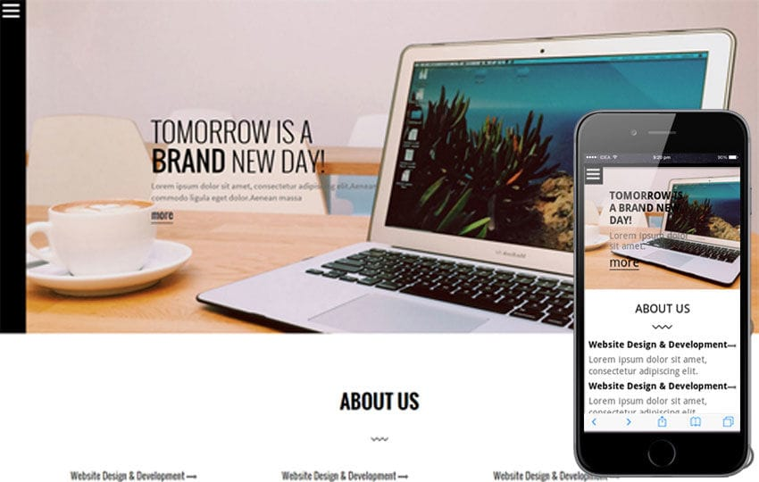 SNDSNG a Singlepage Multipurpose Flat Bootstrap Responsive web template