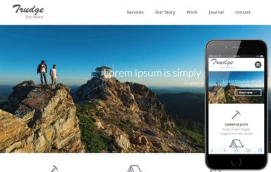 Trudge a Travel Category Flat Bootstrap Responsive Web Template