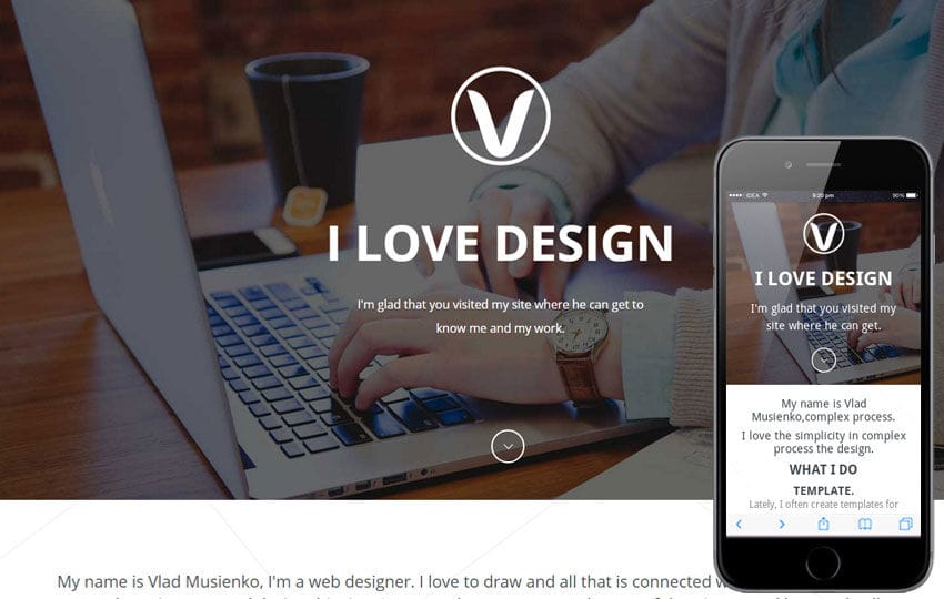 Visual Box a Onepage Portfolio Flat Bootstrap Responsive Web Template